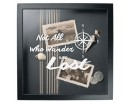 Not All Who Wander Are Lost with Compass Wall Decal Quote Decor