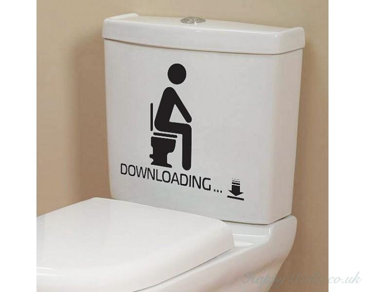 Ing Funny Bathroom Toilet Decals, Funny Bathroom Decals