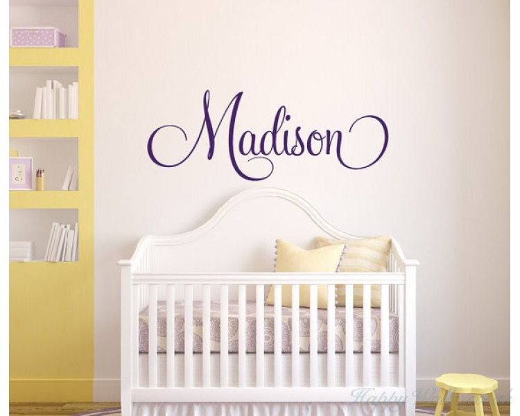 Personalised Childrens Name Wall Decal - Girls' Name - Boys' Name