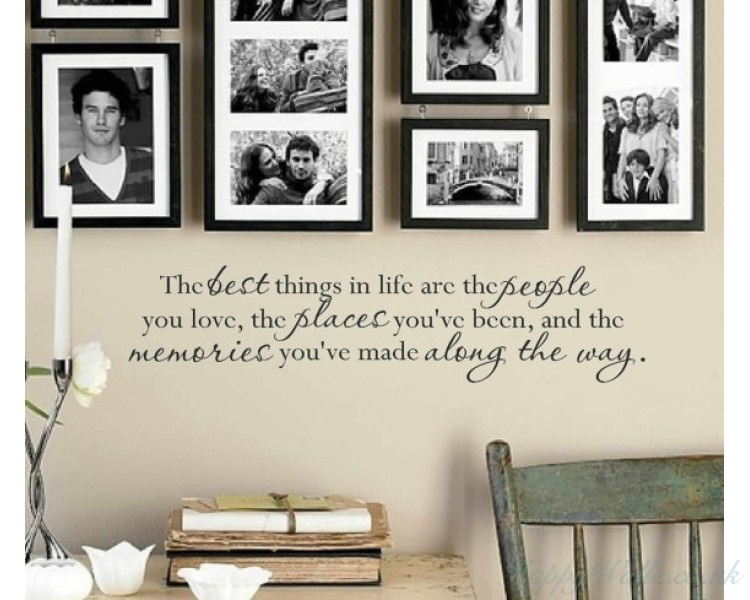 The best things in life...
