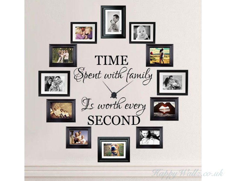 Time Spent with Family, is Worth Every SecondFamily Quotes Wall Art ...