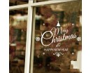 Christmas Window Sticker - Shop Window Display Vinyl Decal - Retail Window Quote Sticker