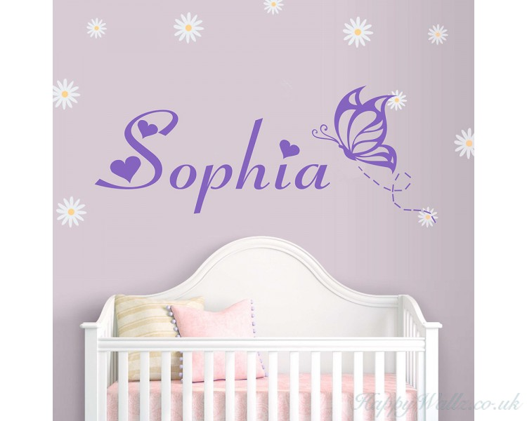 Customized Girl Name With Butterfly Part 90