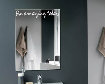 Merveilleux Be Amazing Today   Mirror Decal