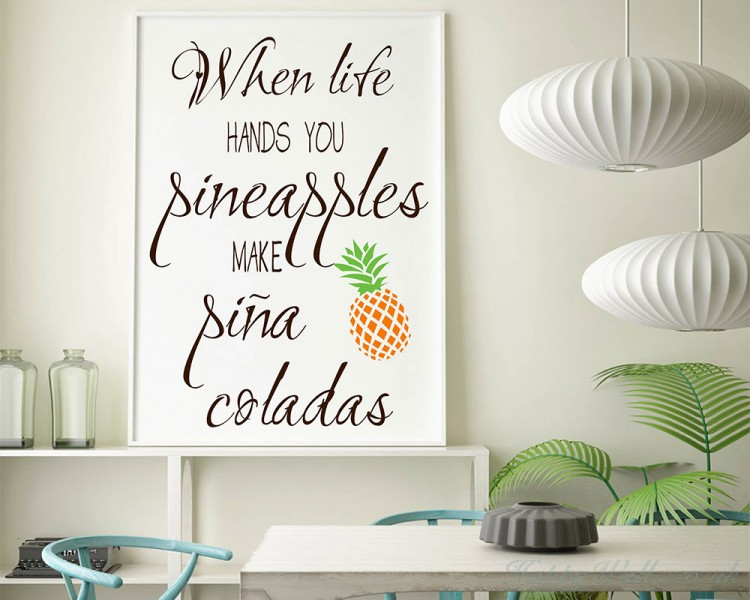 When life hands you pineapples, make pina coladas - Inspired ...