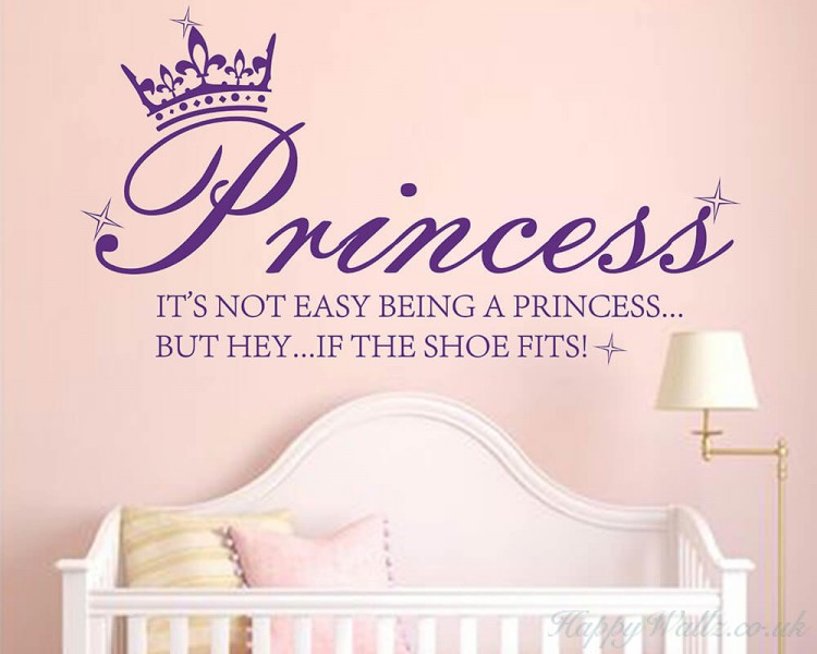 Princess Crown Shoe Quote