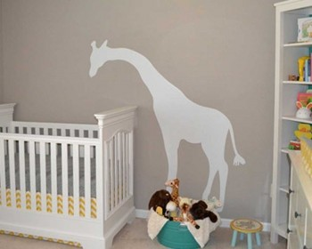 Giraffe Wall Decal Animal Stickers For Nursery Part 94