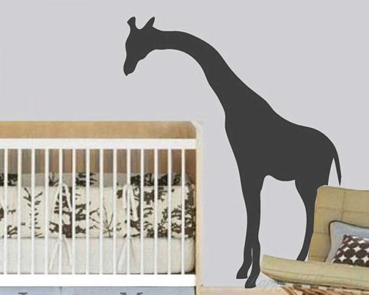 giraffe wall decal animal stickers for nursery