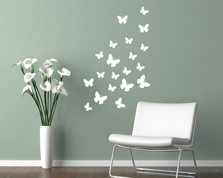 Butterflies Animal Wall Art  Stickers