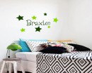 Lovely Stars Customised Name  Decal For Nursery
