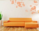 Flowers Blossom Decals Modern Wall Art