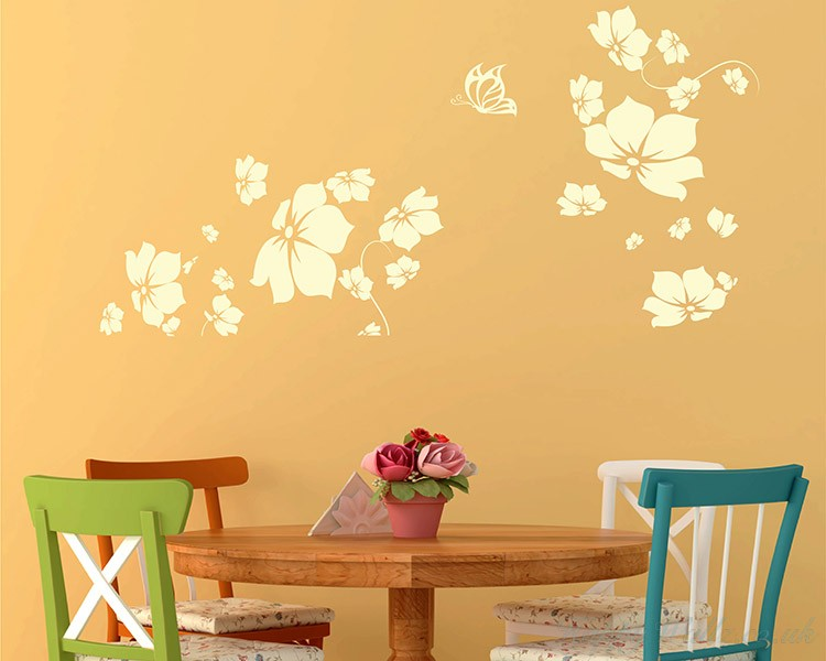 Flowers Blossom Decal