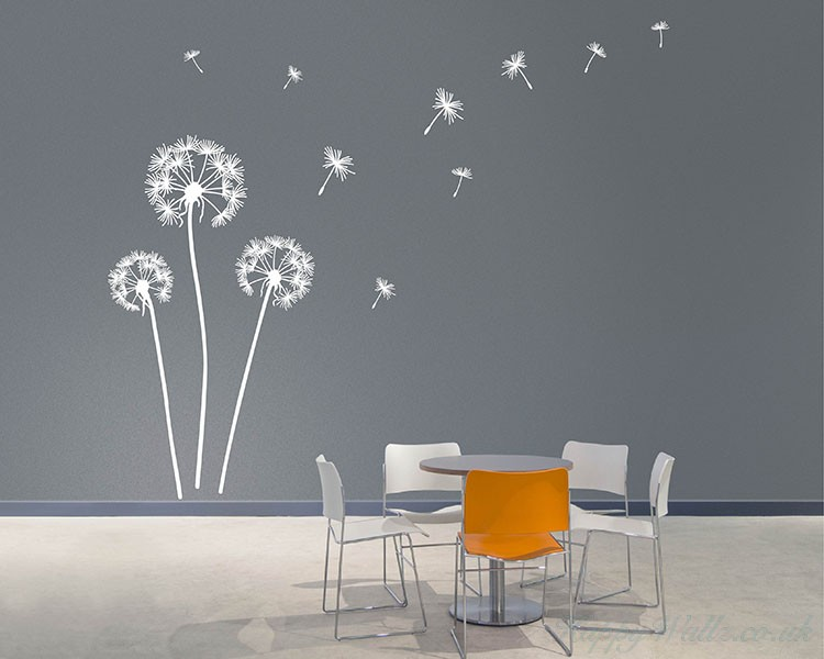 Beau Dandelion Wall Decal