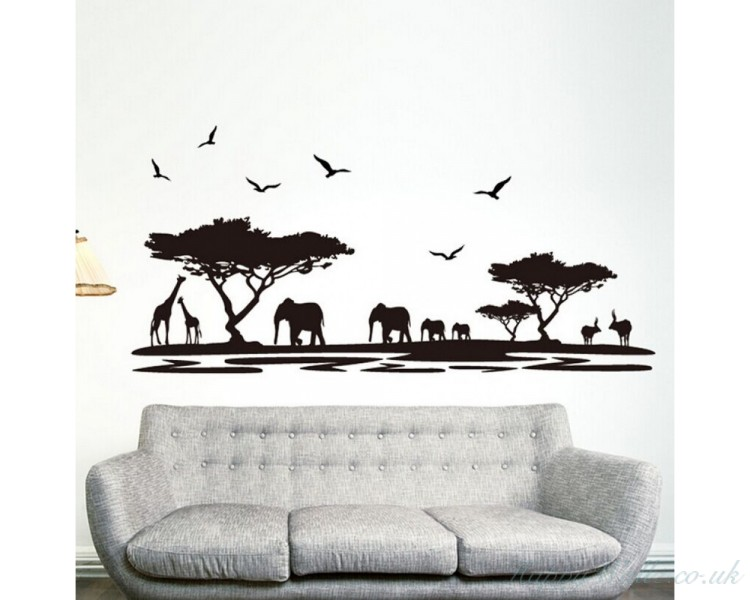 elephant wall stickers for nursery uk animal elephant cute nursery