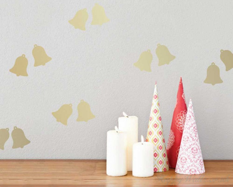 Bell Pattern Wall  Sticker