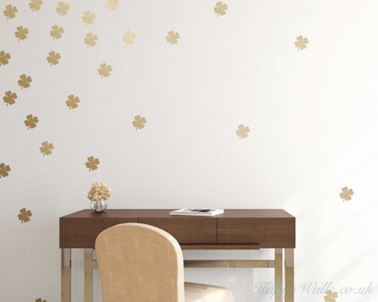 Clover Pattern Wall Decal