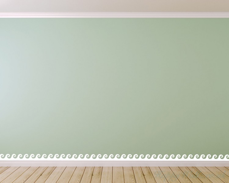 7 styles wall border decals