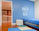 A Good Health Quotes Wall Art Stickers
