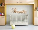 Breathe You're Home Quotes Wall Art Stickers