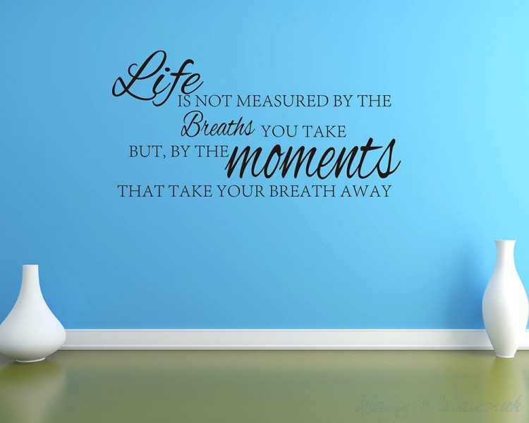 Life Is Not Measured By...... Quotes