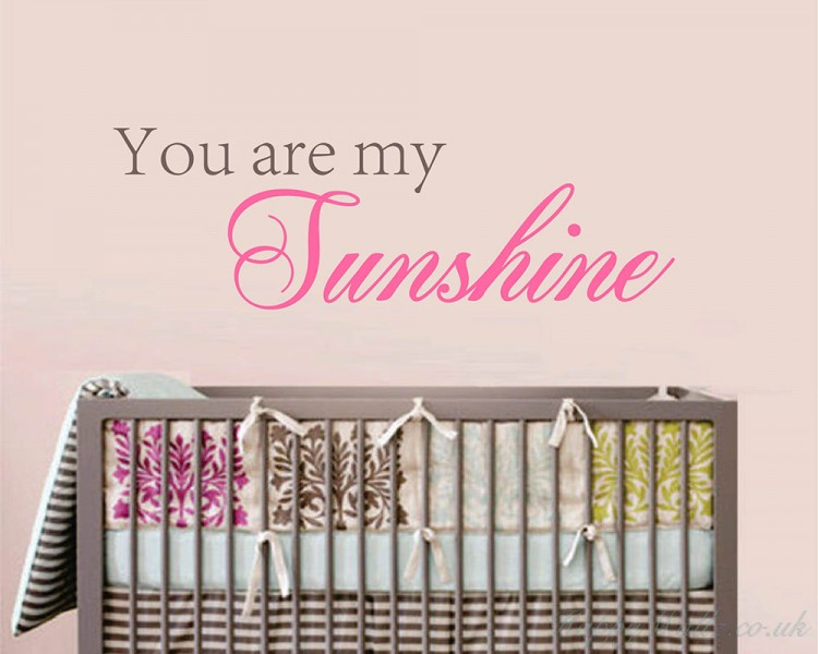 You Are My Sunshine Baby