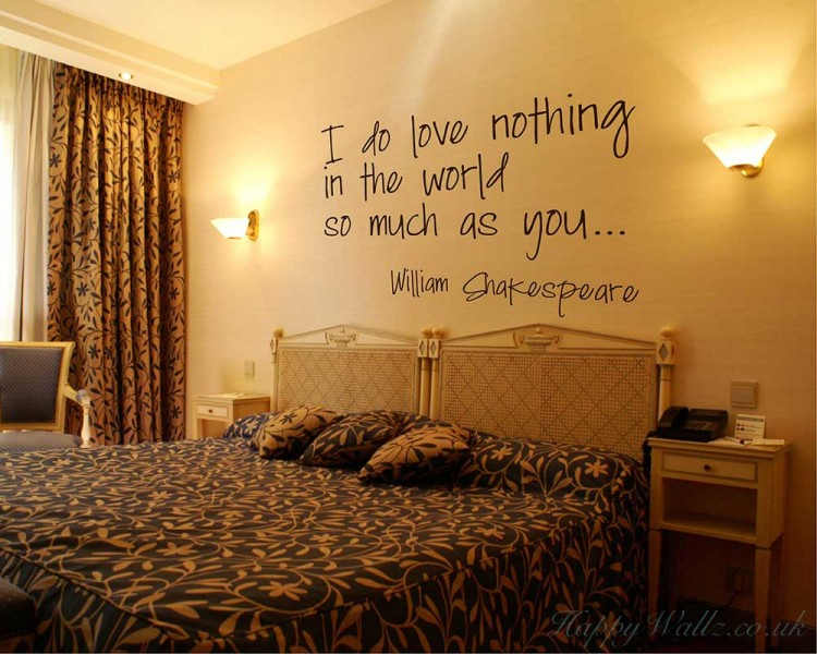 I Do Love Quotes Wall  Art Stickers