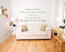 Always Remember Quotes Wall  Art Stickers