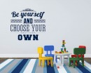 Be Yourself Quotes Wall  Art Stickers