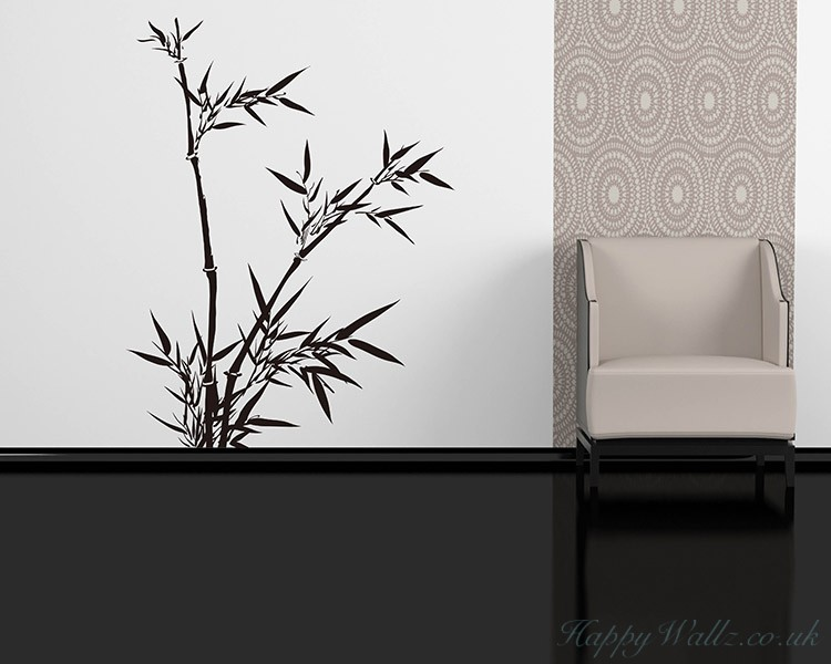 Bamboo Wall Decal Tree Art Stickers