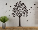 Linden Tree Wall Decal  Art Stickers