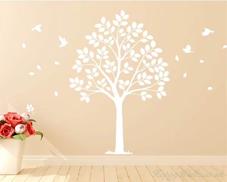 Linden Tree Wall Decal