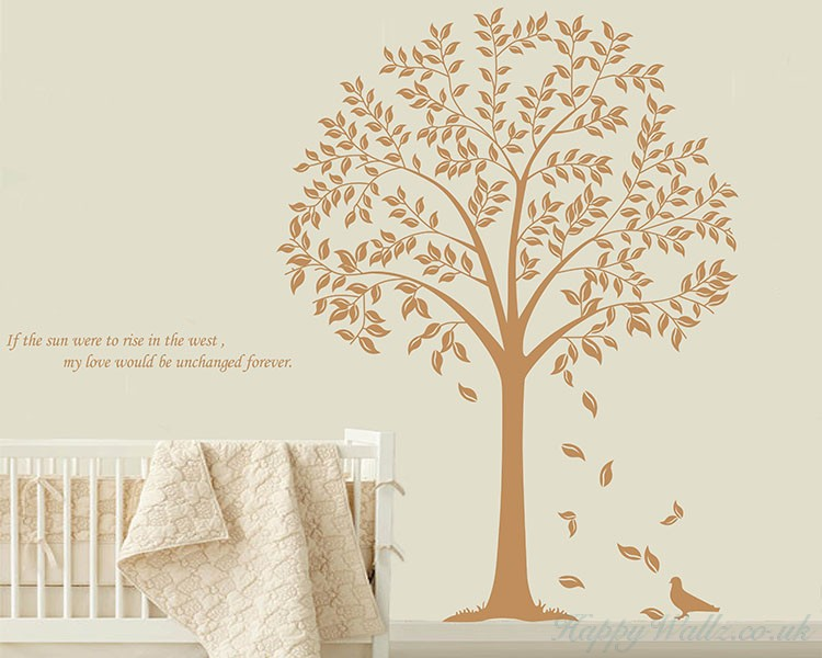 Linden Tree Quotes Wall Decal