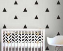Triangle Pattern Wall Sticker