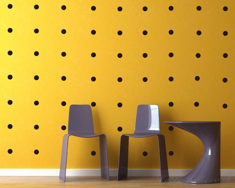polka dots wall decal pattern wall sticker colorful polka dots wall decal