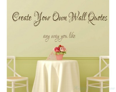 Personalised Quotes & Decals